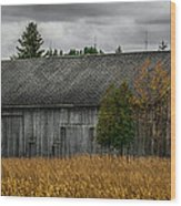 Harvest Season Wood Print