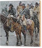 Hashknife Pony Express Wood Print