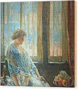 Hassam's The New York Window Wood Print