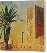 Hassan Tower Wood Print