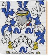 Hassett Coat Of Arms Irish Wood Print