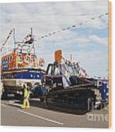 Hastings Lifeboat Wood Print