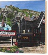 Hastings Miniature Railway  Wood Print