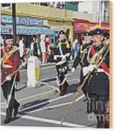 Hastings Old Town Carnival Wood Print