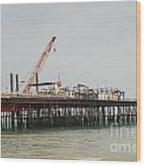 Hastings Pier Reconstruction Wood Print