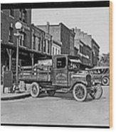 Hatcher Boaze Truck. Wood Print