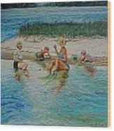 Hatchet Point Wood Print