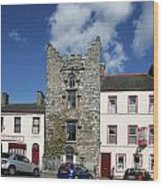 Hatch's Castle Ardee Ireland Wood Print