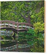 Hatley Bridge Wood Print