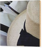 Hats Off To You Wood Print