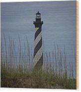 Hatteras  Wood Print