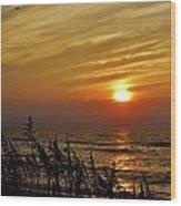 Hatteras Island Sunrise 1 7/31 Wood Print