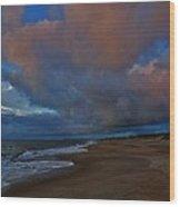 Hatteras Island Sunrise 1 9/10 Wood Print
