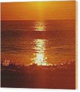 Hatteras Island Sunrise 12 10/2 Wood Print