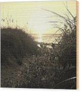 Hatteras Island Sunrise 12 8/28 Wood Print