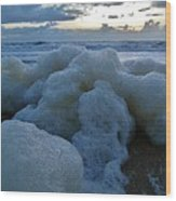 Hatteras Island Sunrise 2 10/10 Wood Print