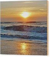 Hatteras Island Sunrise 9 8/28 Wood Print