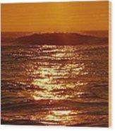 Hatteras Sunrise 16 8/6 Wood Print