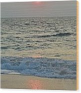 Hatteras Sunrise 5 8/8 Wood Print