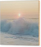 Hatteras Sunrise 6 8/6 Wood Print