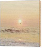 Hatteras Sunrise 7 8/6 Wood Print