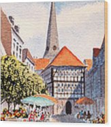 Hattingen Germany Wood Print