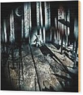 Haunted 9 Wood Print by John Magnet Bell