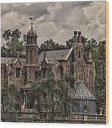 Haunted Mansion Wood Print