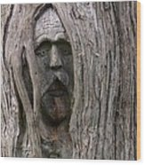 Hauntingly Wood Print