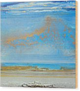 Hauxley Haven Rhythms And Blues  Wood Print