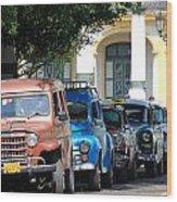 Havana 21 Wood Print