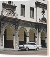 Havana 35 Wood Print
