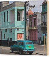 Havana 36 Wood Print
