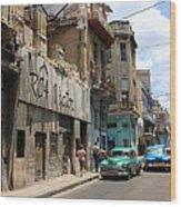 Havana 9 Wood Print