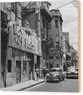 Havana 9b Wood Print