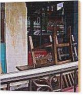 Havana Cafe Wood Print