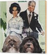 Havanese Art - Father Of The Bride Movie Poster Wood Print