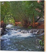 Havasu Creek Wood Print