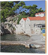 Haven In Dubrovnik Wood Print