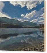 Haviland Lake Wood Print