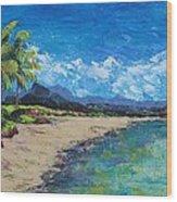 Hawaii Wood Print