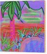 Hawaii In My Dreams Wood Print