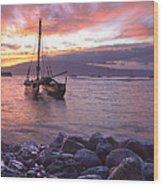 Hawaii Wood Print by James Roemmling
