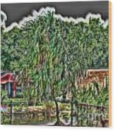 Hawaii Plantation Wood Print