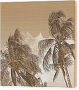 Hawaiian Breeze Wood Print
