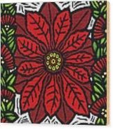Hawaiian Christmas Joy Wood Print