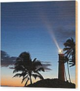 Hawaiian Lighthouse Wood Print