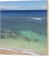 Hawaiian Ocean Wood Print