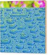 Hawaiian Rain Wood Print