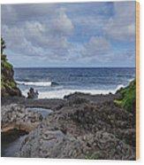 Hawaiian Surf Wood Print